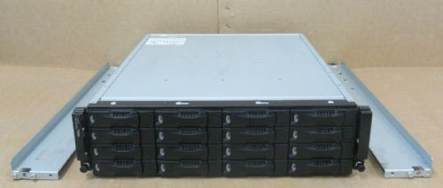 Dell Equallogic PS6000 Virtualized SAN Array 16x 50GB SSD 2x Control Module 7
